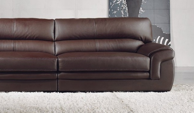 2017 Bachelli Leather Sofa – 4 Seater – Delux Deco Furniture Throughout 4 Seat Leather Sofas (View 1 of 10)