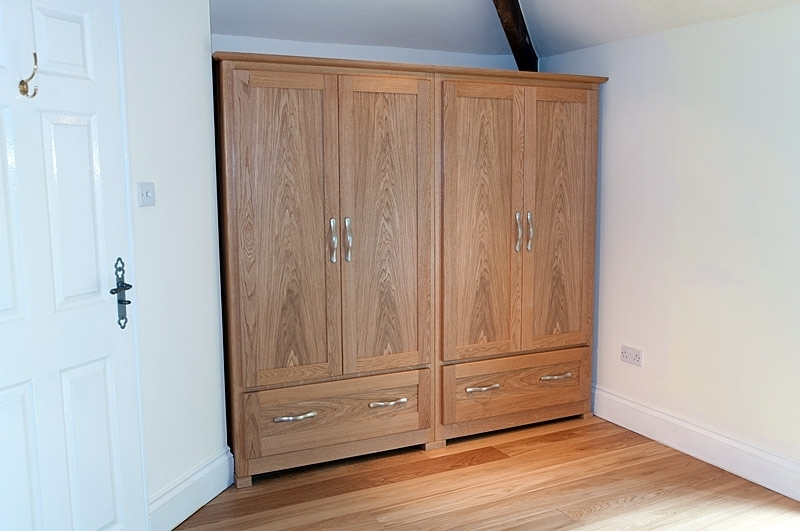 2017 Bedrooms Archives David Armstrong Furniture Large Oak Wardrobes Inside Large Oak Wardrobes (View 2 of 15)