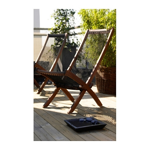 2017 Brommö Chaise, Outdoor – Ikea Throughout Outdoor Ikea Chaise Lounge Chairs (View 1 of 15)