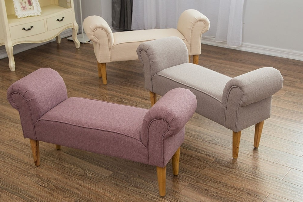 2017 Chaise : Three Posts Upholstery Chaise Lounge Bedroom Chairs Small Within Narrow Chaise Lounge Chairs (View 1 of 15)
