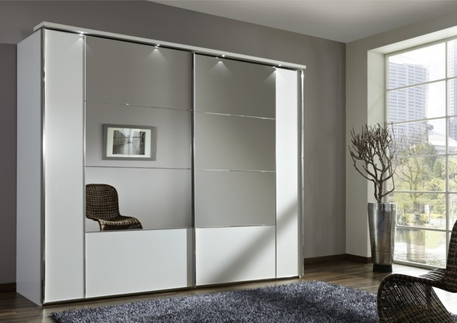 2017 Cheap Wardrobes With Mirrors Regarding Modern Design Of Studio Apartment Design Plans With Mirrors With (View 1 of 15)