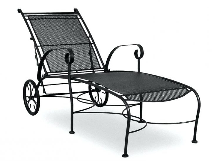 2017 Double Chaise Lounge Outdoor Wrought Iron Chaise Lounge Cs2 Price In Wrought Iron Outdoor Chaise Lounge Chairs (View 2 of 15)