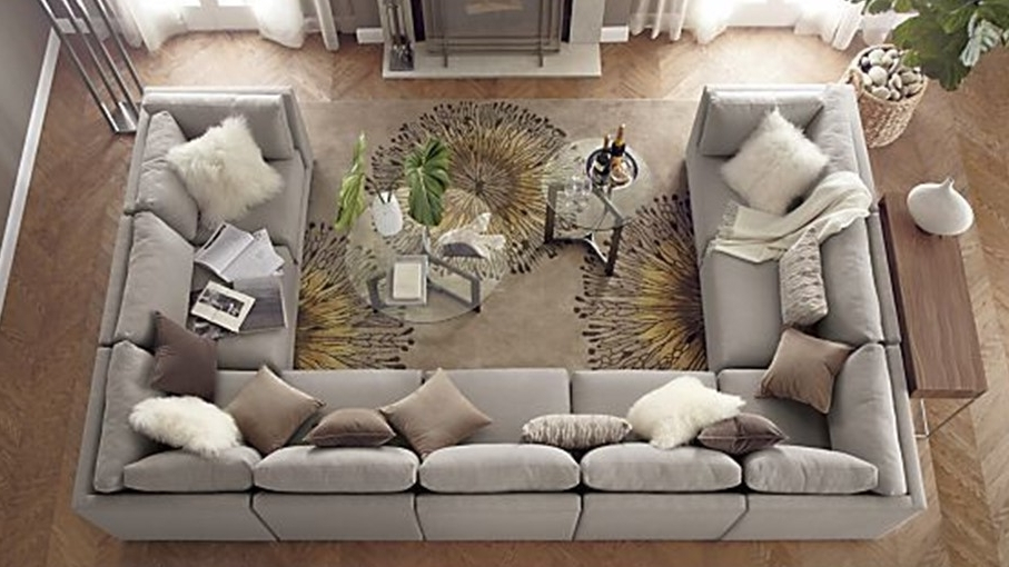 2017 Extra Large U Shaped Sectionals Regarding Awesome Importance Of U Shaped Sofa In The Furniture Market (View 1 of 10)