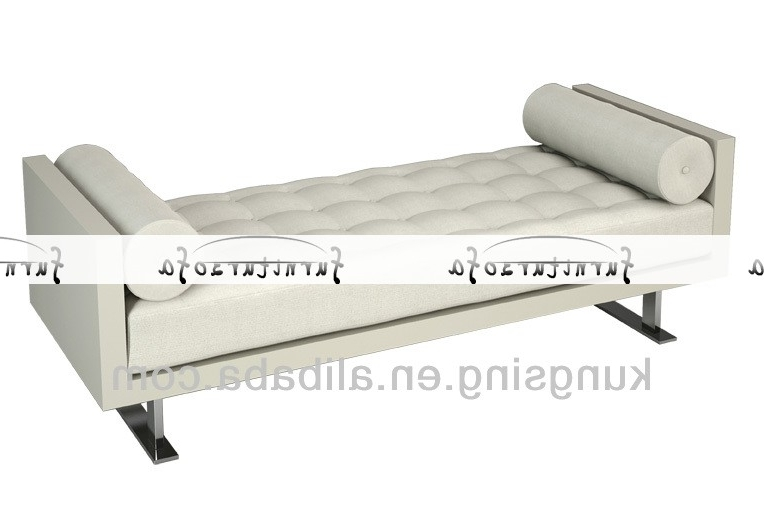 2017 Gorgeous White Leather Chaise Lounge Chaise Lounge Sofa Chaise In White Leather Chaise Lounges (View 1 of 15)