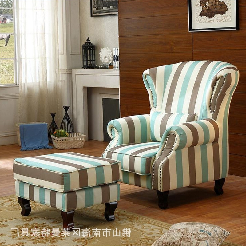 2017 Great Country Single Seat Fabric Sofa Living Room Bedroom High For Country Sofas And Chairs (View 1 of 10)