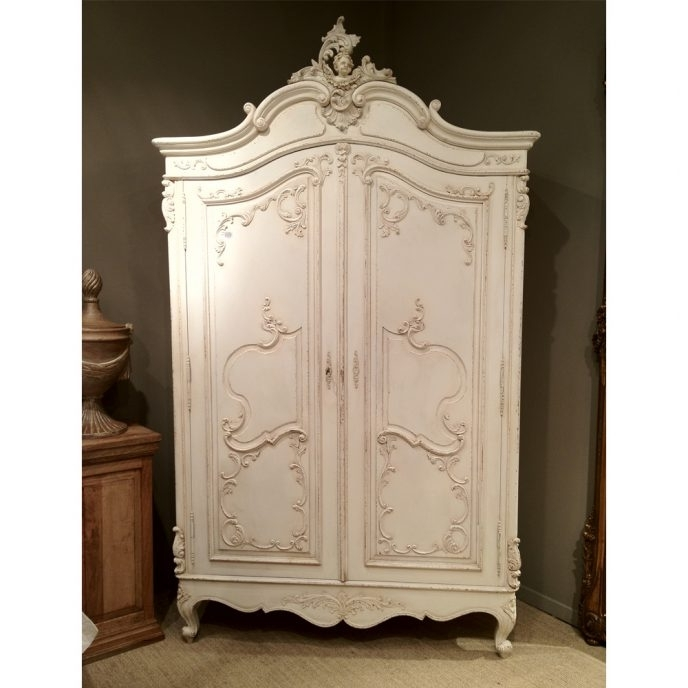 2017 Home Design : Fabulous French Shabby Chic Wardrobes Sophia For Sophia Wardrobes (View 1 of 15)
