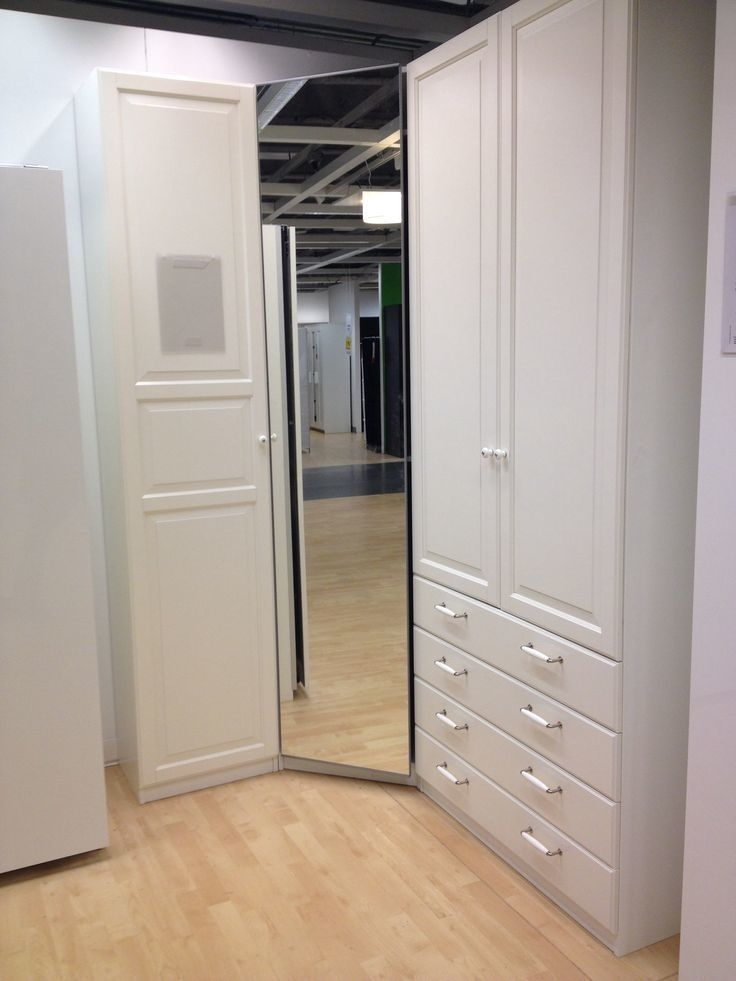 Featured Photo of Corner Wardrobes Closet Ikea