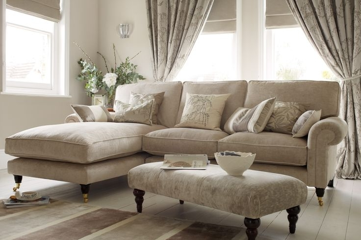 "2017 Kingston Sectional Sofas Inside Kingston"" Sectional Sofa With Chaise In Sable Beige From Laura (View 7 of 10)"