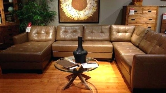 2017 Macys Leather Sectional Sofas Inside Macys Leather Sectional Sofa (View 1 of 10)