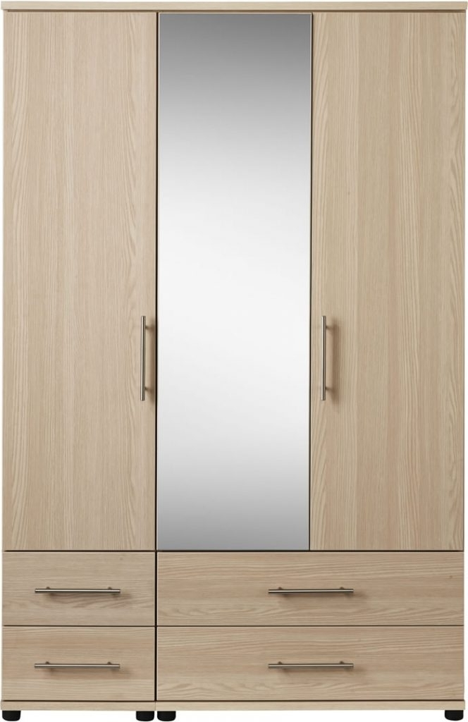 2017 Mirror Design Ideas: Large Gallery 3 Door Mirrored Wardrobe Within Mirrored Wardrobes With Drawers (View 3 of 15)