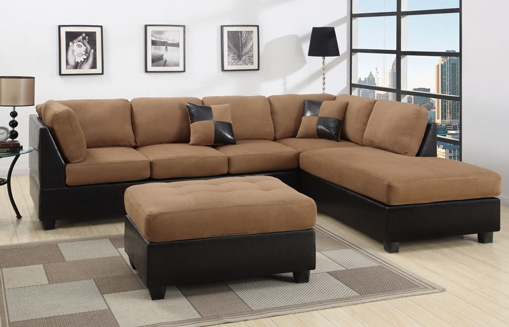 2017 Sectional Sectionals Sofa Couch Loveseat Couches With Free Ottoman Inside Sectional Sofas With Ottoman (View 6 of 10)