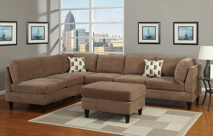 2017 Sectional Sofa Design: Excellent Choosen Microsuede Sectional Sofa Within Microsuede Sectional Sofas (View 1 of 10)