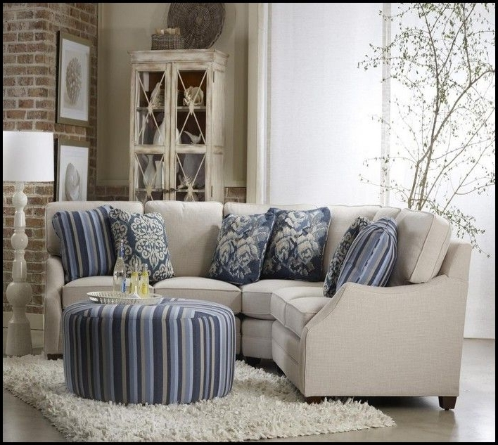 2017 Sectional Sofas For Small Living Rooms Throughout Small Scale Sectional Sofa Ideas For The House Pinterest In (View 1 of 10)