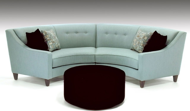 2017 Semi Circle Sectional Semi Circle Sofa Cool As Modern Sectional Throughout Semicircular Sofas (View 1 of 10)