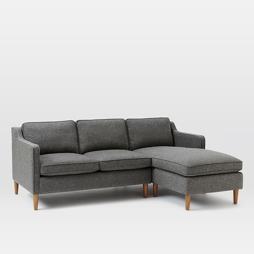 2017 Sofas With Chaise Lounge Regarding Hamilton 2 Piece Chaise Sectional (View 1 of 15)