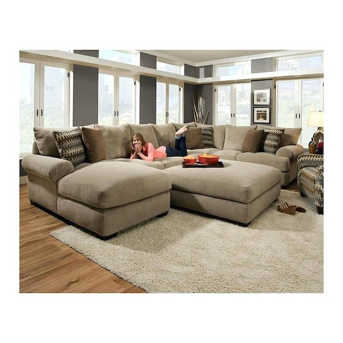 2017 Sofas With Ottoman With Regard To Lovely Sofa With Ottoman Sectional Sofa With Ottoman Montauk Sofa (View 1 of 10)