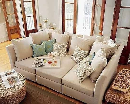 2017 Sofas With Oversized Pillows Inside Oversized Comfortable Couches Deep Seated Sofas Gray Sofas Soft (View 1 of 10)