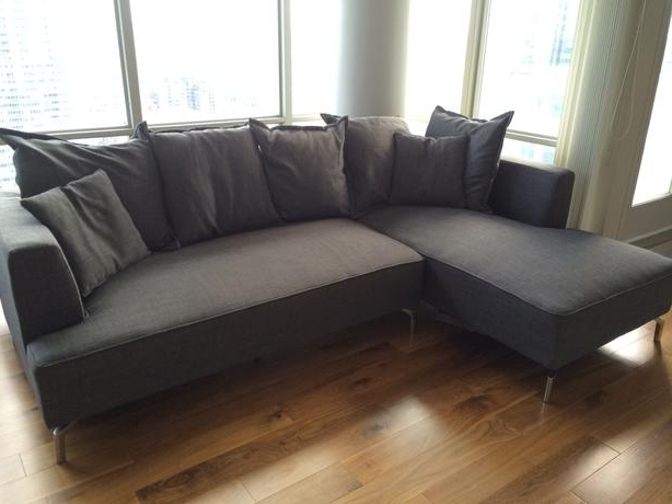 2017 Structube Sectional Sofas Intended For Structube Kennedy Sectional Sofa For Sale Downtown Toronto, Toronto (View 1 of 10)