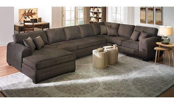 2017 Upholstered Sectional Sofa With Chaise (View 1 of 10)