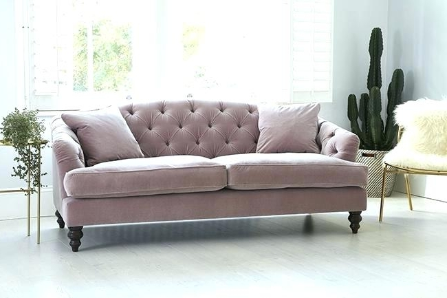 2017 Velvet Sofas Within Pink Velvet Sofa – Cheesephotography (View 1 of 10)