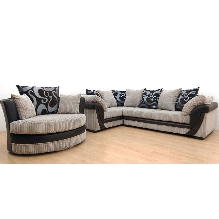 2017 Why Pay More For A Lush Corner Sofa Rhf + Swivel Chair Cream With Regard To Sofas With Swivel Chair (View 1 of 10)