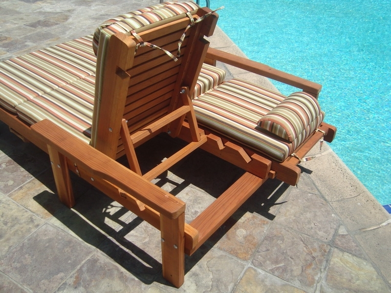 2017 Wood Chaise Lounge Chairs Intended For Nice Wood Lounge Chairs Outdoor Chaise Lounge Outdoor 91748 At (View 2 of 15)