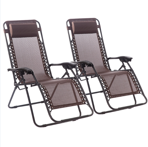 2017 Zero Gravity Chaise Lounges Pertaining To Great New Zero Gravity Chairs Case Of 2 Lounge Patio Chairs (View 11 of 15)