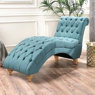 2018 Alessia Chaise Lounge Tufted Chairs Intended For Skyline Furniture  Tufted Chaise Lounge In White Peabody