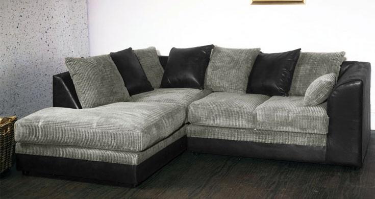2018 Cheap Black Sofas Regarding Grey Sofas Cheap – Home Design Ideas And Pictures (View 5 of 10)