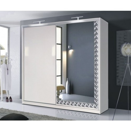 Featured Photo of Cheap Wardrobes With Mirror