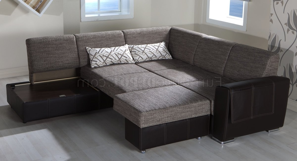 2018 Convertible Sectional Sofas With Sofa Beds Design: Exciting Modern Convertible Sectional Sofas (View 7 of 10)
