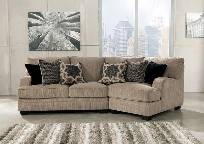 2018 Cuddler Sectional Sofas With Jennifer Convertibles: Sofas, Sofa Beds, Bedrooms, Dining Rooms (View 1 of 10)