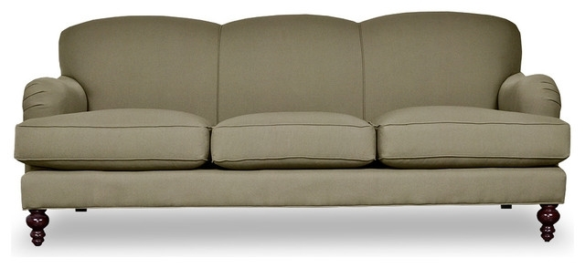 2018 Fabulous Tight Back Leather Sofa Basel Tight Back English Roll Arm For Traditional Sofas And Chairs (View 1 of 10)