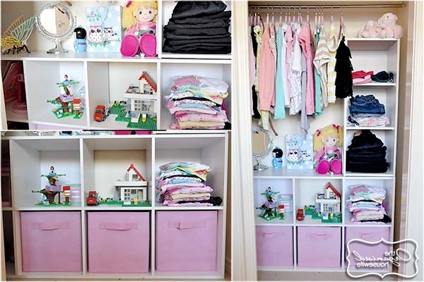 2018 Girls Wardrobes Within Organised Kids Wardrobes – The Organised Housewife (View 8 of 15)