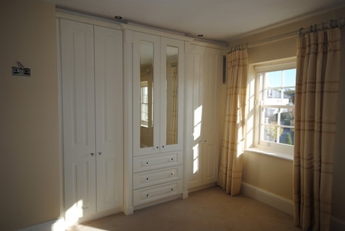 2018 Ivory Wardrobes In Kitchenwise (View 6 of 15)