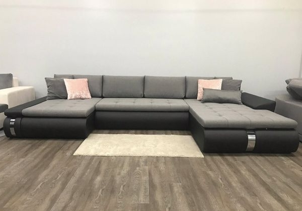 2018 Large Sectional Sofa Bed Pull Out Bed Storage Couch Paola Lux With Regard To Elk Grove Ca Sectional Sofas (View 1 of 10)