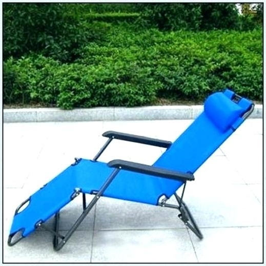 2018 Lightweight Chaise Lounge Chairs With Regard To Chaise Lounge Beach Chair Folding Chaise Lounge Chair Aluminum (View 3 of 15)