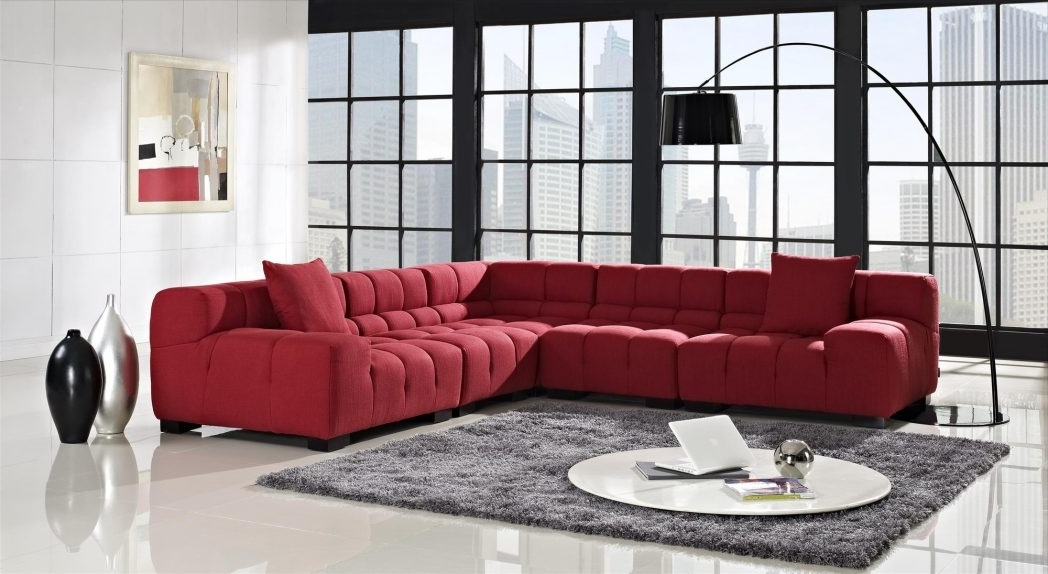 2018 Modular Sectional Sofas Stacey Leather Sofa For Small Spaces With Within Canada Sectional Sofas For Small Spaces (View 1 of 10)