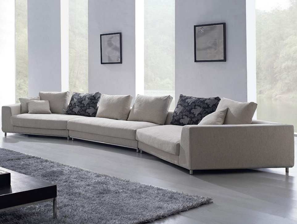 2018 Oversized Pillows For Couch Regarding Sofas With Oversized Pillows (View 2 of 10)