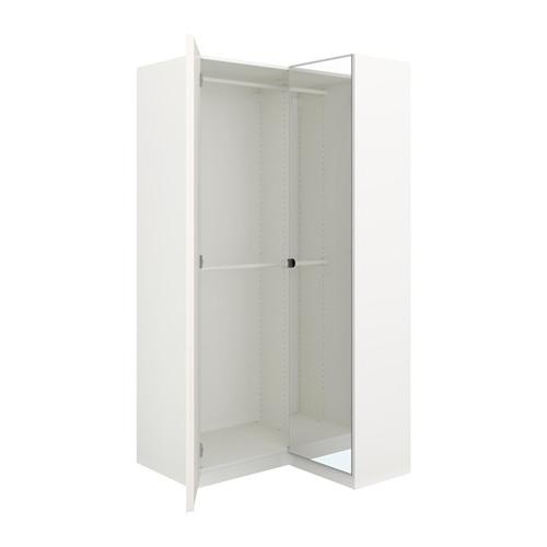 """2018 Pax Corner Wardrobe – 43 1/2/34 5/8X79 1/8 """" – Ikea For 2 Door Corner Wardrobes (View 5 of 15)"""