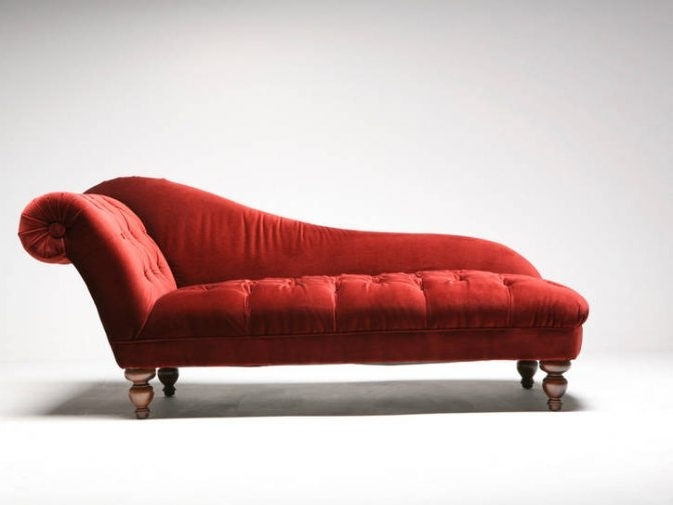2018 Red Chaises In Chaise Lounge' Or 'chaise Longue'? (View 2 of 15)