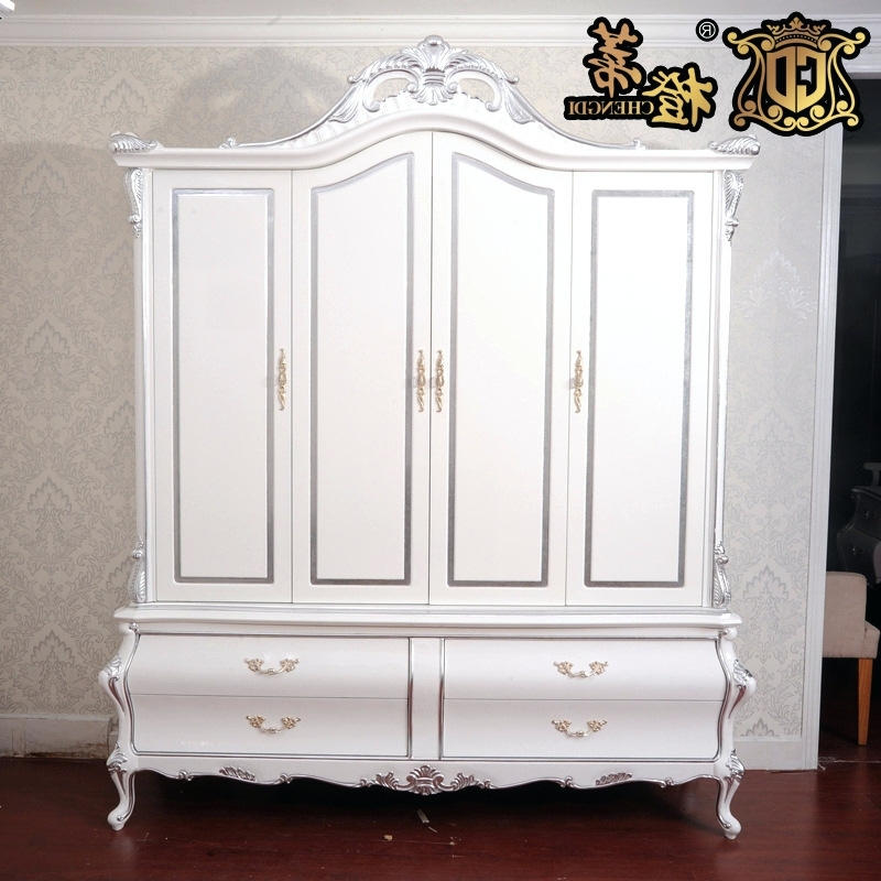2018 The Princess Wardrobes With Wardrobes ~ Princess Wardrobe Closet European Neo Classical White (View 1 of 15)