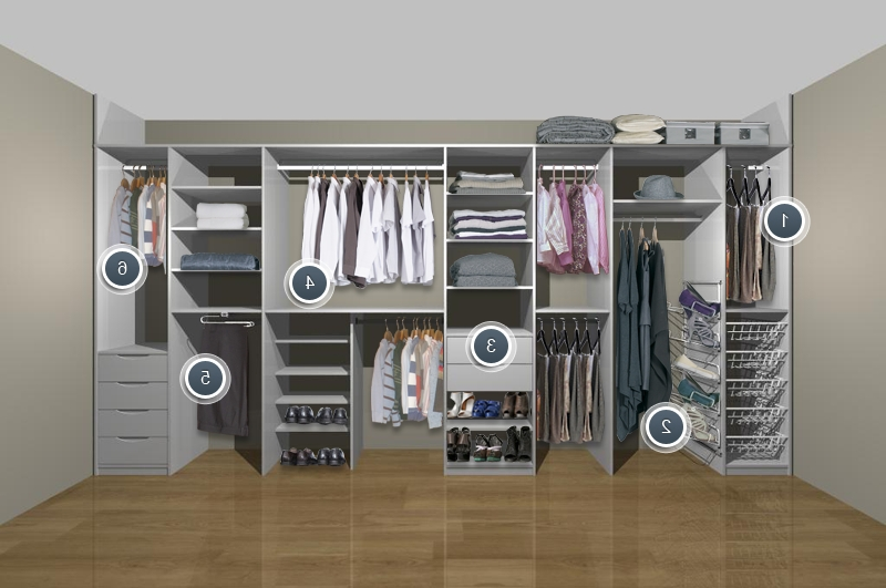 2018 Wardrobe Storage Solutions For Small Bedrooms – Google Search Within Bedroom Wardrobes Storages (View 2 of 15)