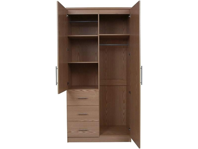 2018 Wardrobes ~ 2 Door Wardrobe With 3 Drawers Ikea Pax Wardrobe With Inside 2 Door Wardrobes With Drawers And Shelves (View 6 of 15)
