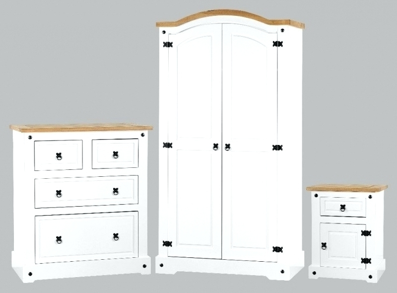 2018 Wardrobes ~ Wardrobe And Drawer Set White Bedroom Furniture Set With Regard To Cheap White Wardrobes Sets (View 2 of 15)
