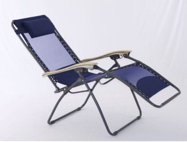 2018 Zero Gravity Chaise Lounges Throughout Symple Stuff Xl Zero Gravity Chaise Lounge With Cool Mesh (View 2 of 15)