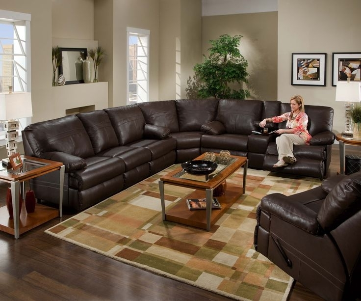 23 Best Reclining Sectionals Images On Pinterest (View 1 of 10)