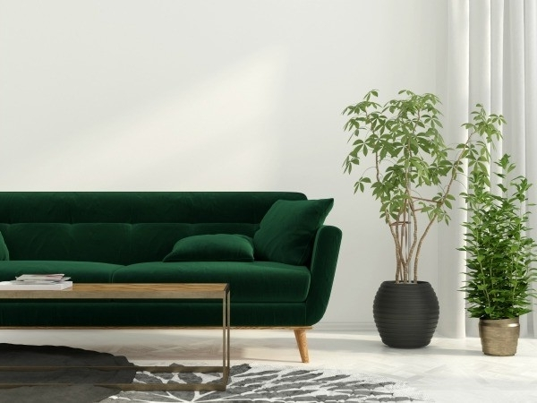 23 Stunning Green Sofa Living Room Home Design Lover Within Idea 6 With Trendy Green Sofa Chairs (View 1 of 10)