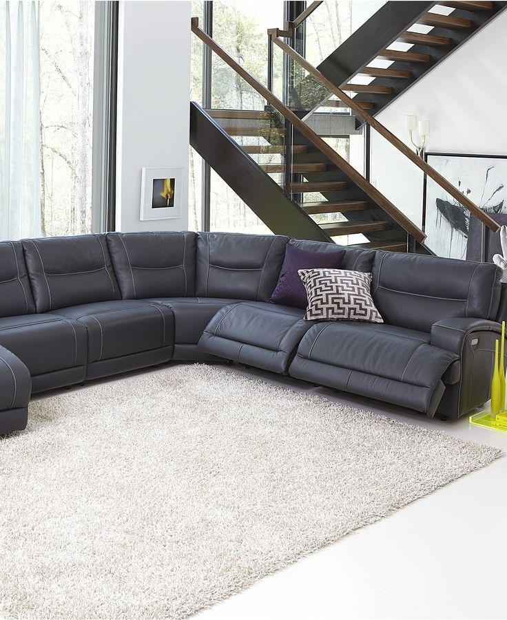 26 Best 616 Bay View – Reclining Couches Images On Pinterest In Widely Used Leather Motion Sectional Sofas (View 1 of 10)