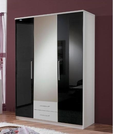 3 Door 2 Drawer Wardrobe (View 10 of 15)